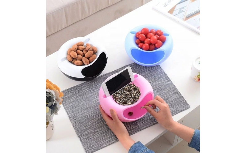 Wholesale Snacks Bowl With Phone Holder